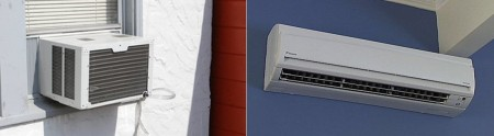 Comparison of Window Air Conditioners and Ductless Mini-Split Systems