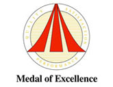 Medal of Excellence Award to Columbus Worthington Air